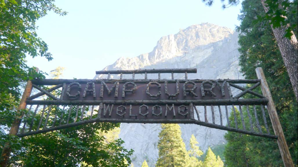 Camp Curry Yosemite