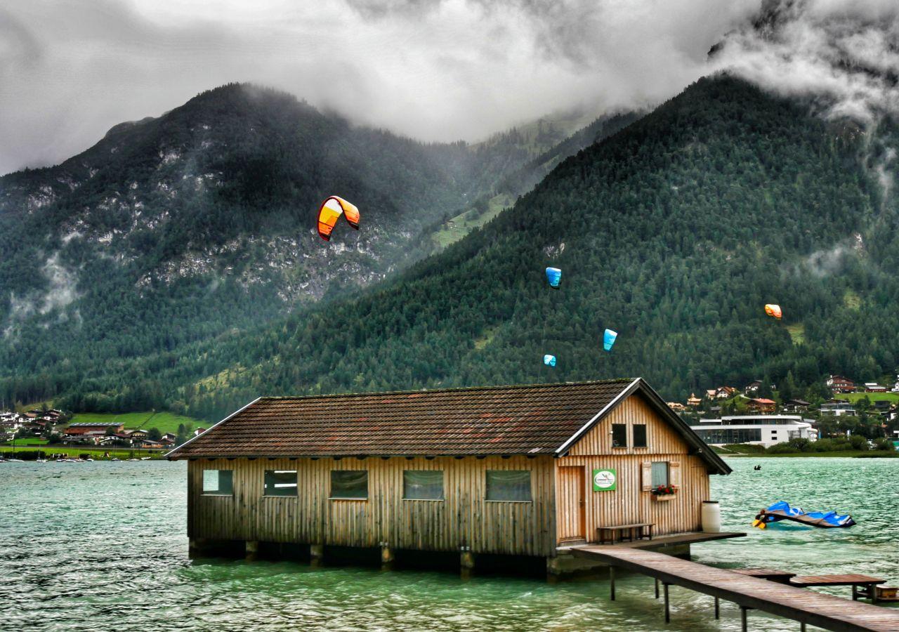 Zillertal Tirol Oostenrijk achensee