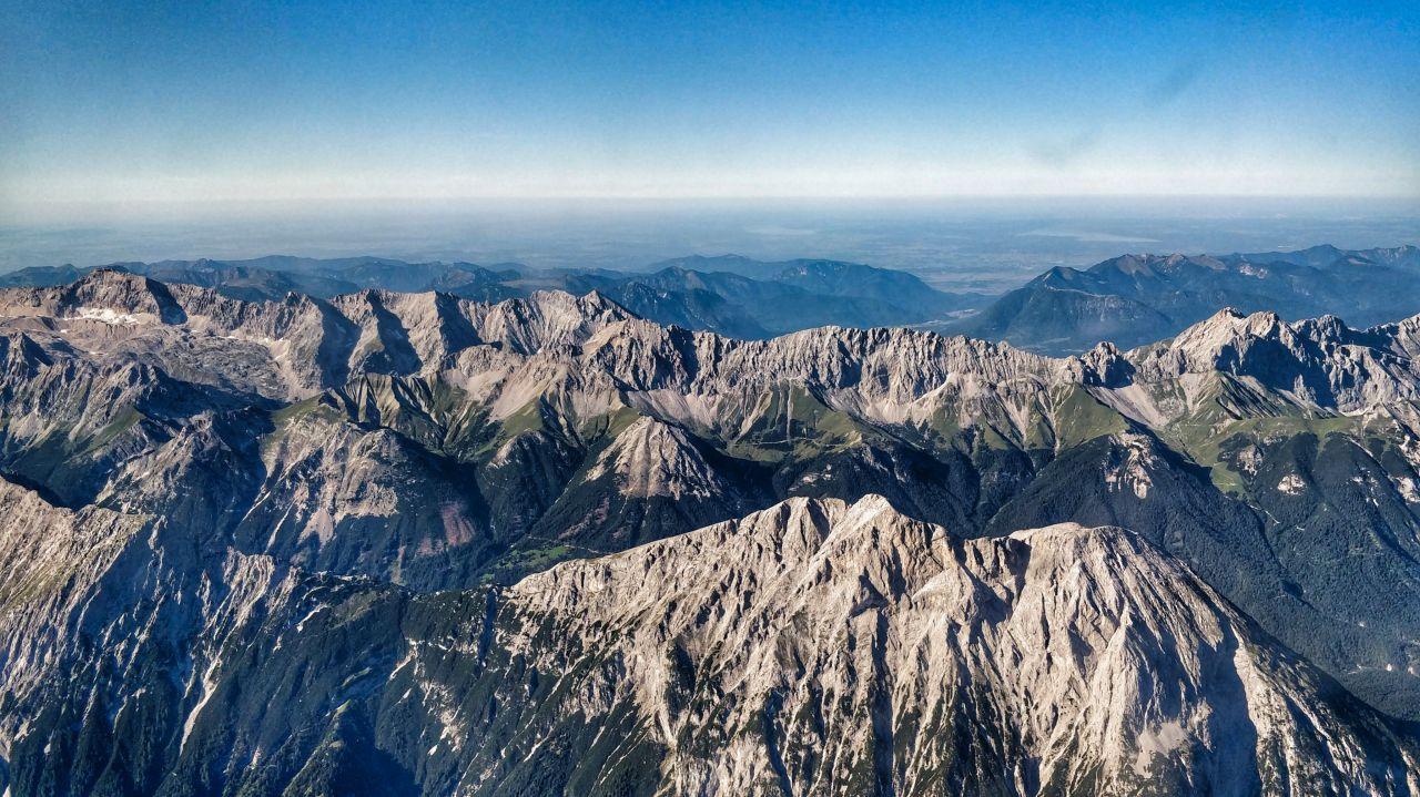 Zillertal Tirol Oostenrijk luchtfoto bergen 10