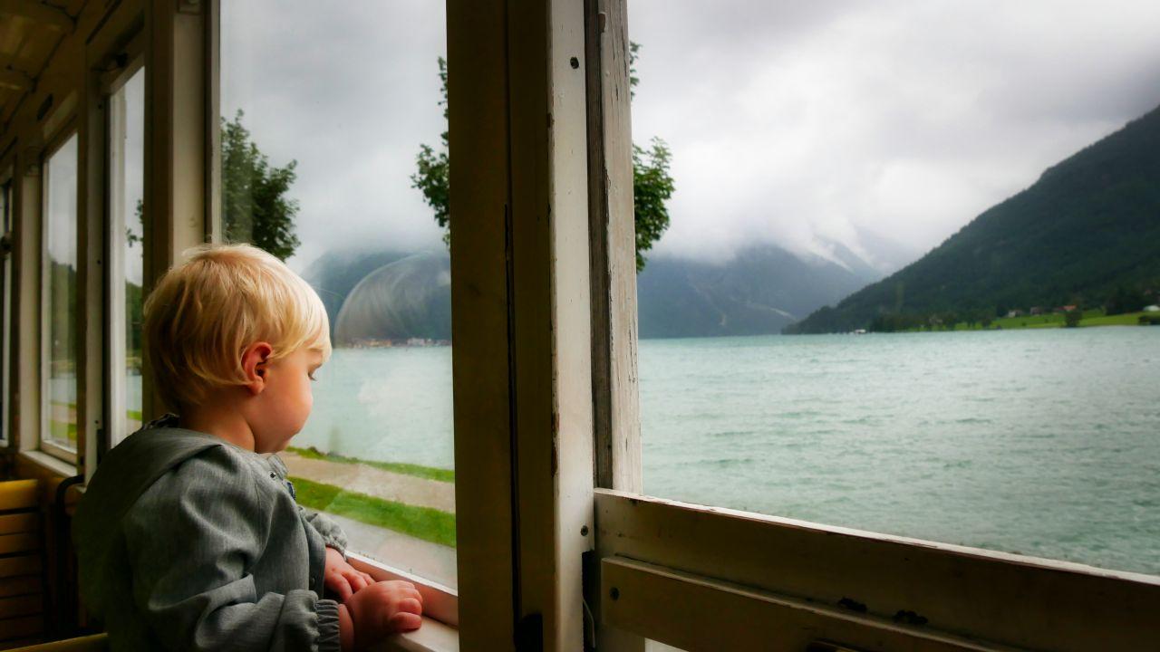 Zillertal Tirol Oostenrijk stoomtrein Achensee