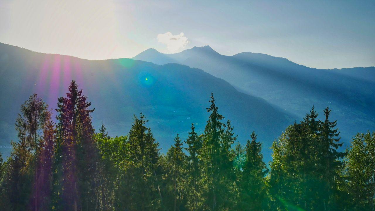 Zillertal Tirol Oostenrijk sunset
