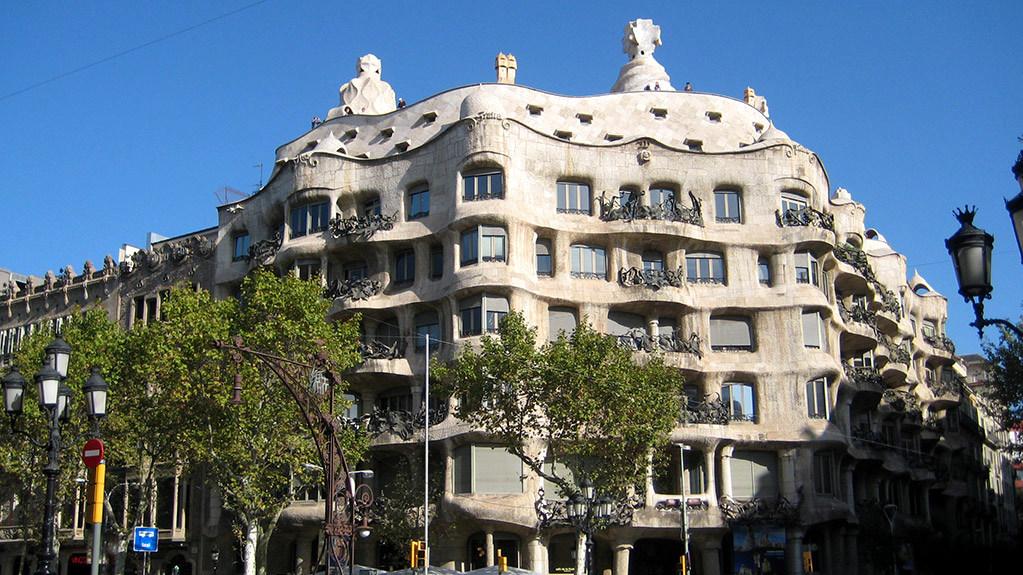 Gaudí Casa Milà 001