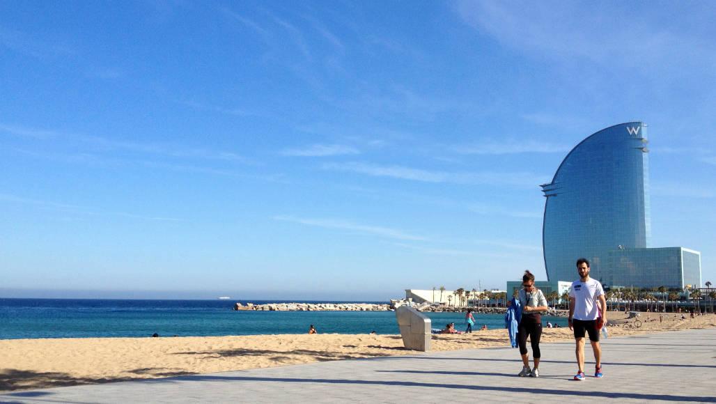 Strand in Barcelona 001