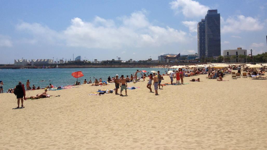 strand barcelona 001