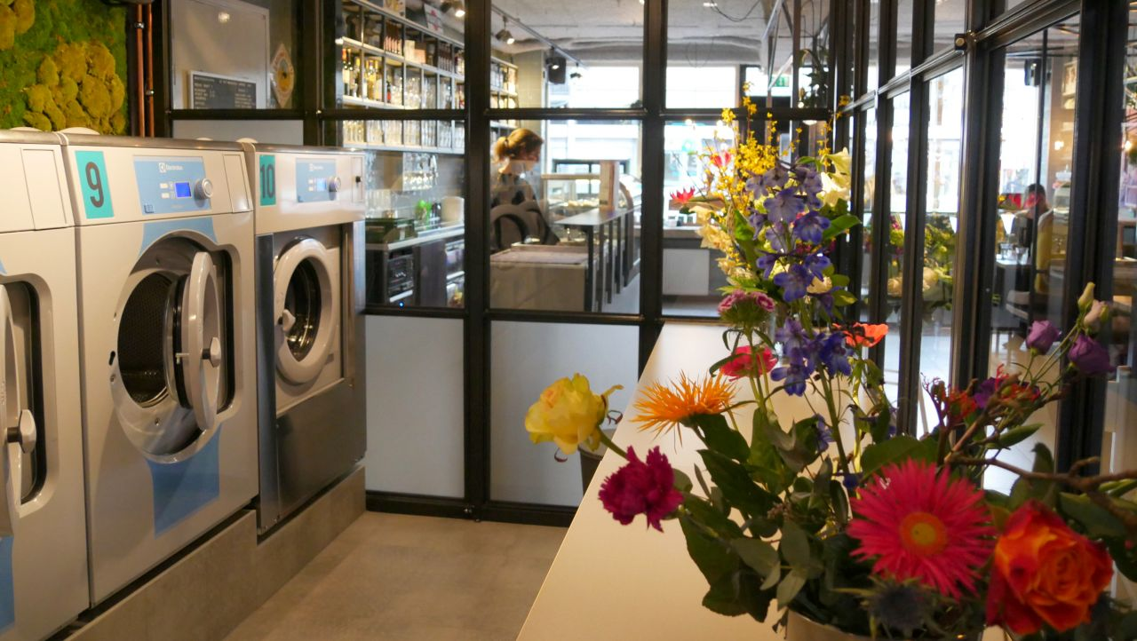 De Wit Wasserij wasserette en bar Nijmegen