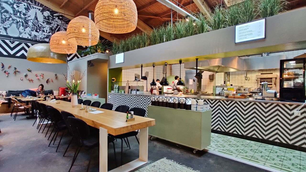 Restaurant Plek NMGN Nijmegen Open Keuken