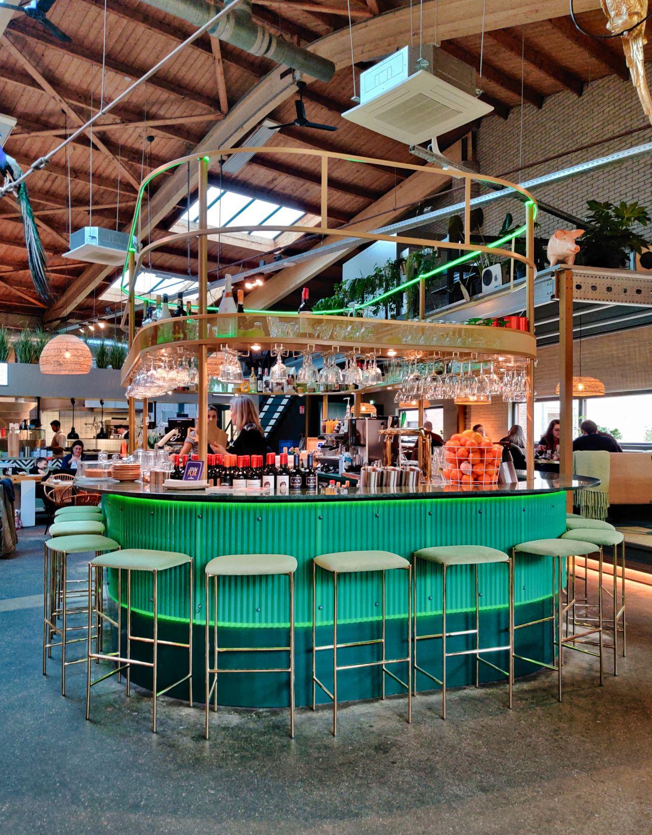 Restaurant Plek NMGN Nijmegen de groene bar