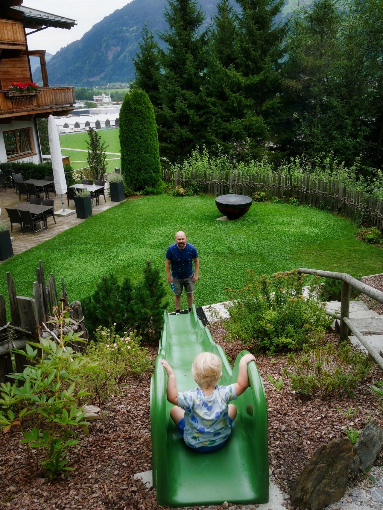 Hotel Das Kaltenbach Zillertal Oostenrijk glijbaan