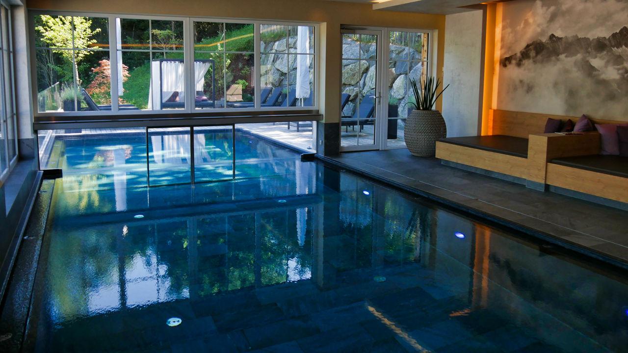 Hotel Das Kaltenbach Zillertal Oostenrijk zwembad