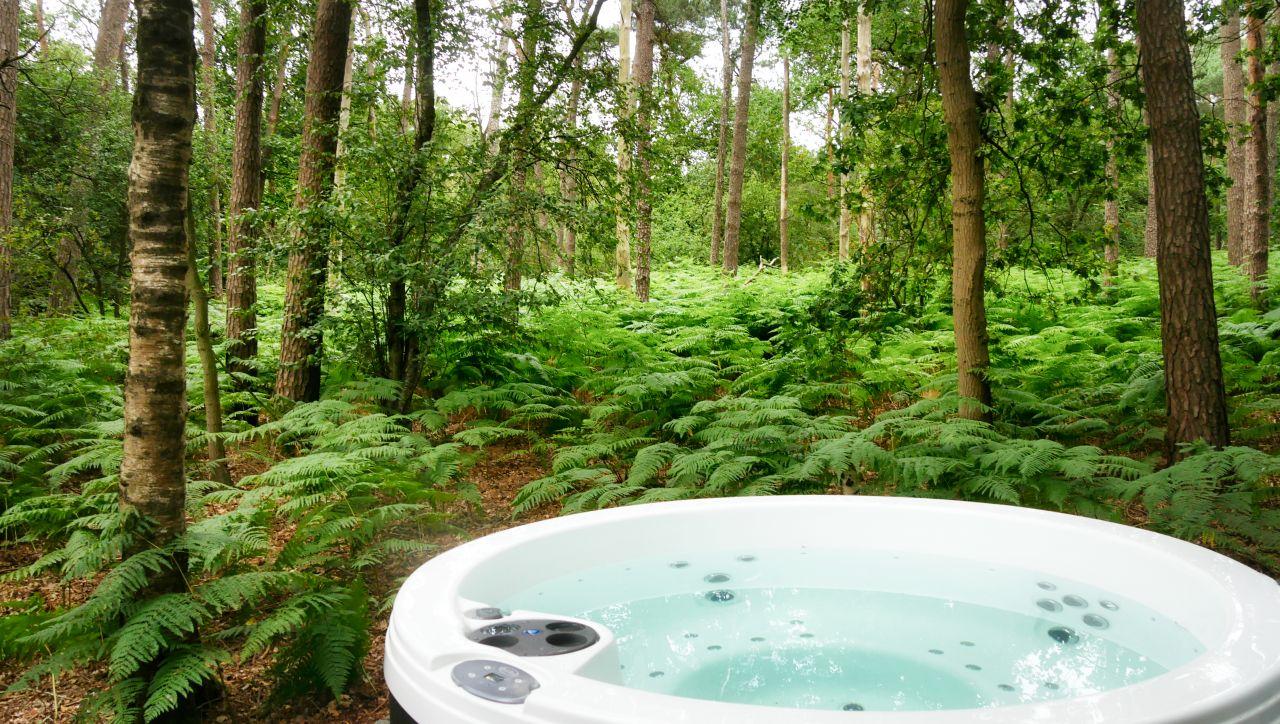 De Bottelroos privé wellness in het bos hoofdfoto