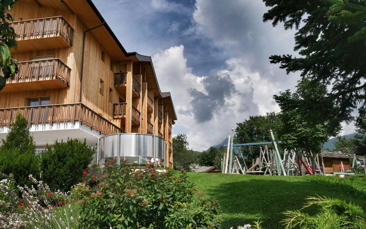 Family Home Alpenhof Zuid Tirol speeltuin