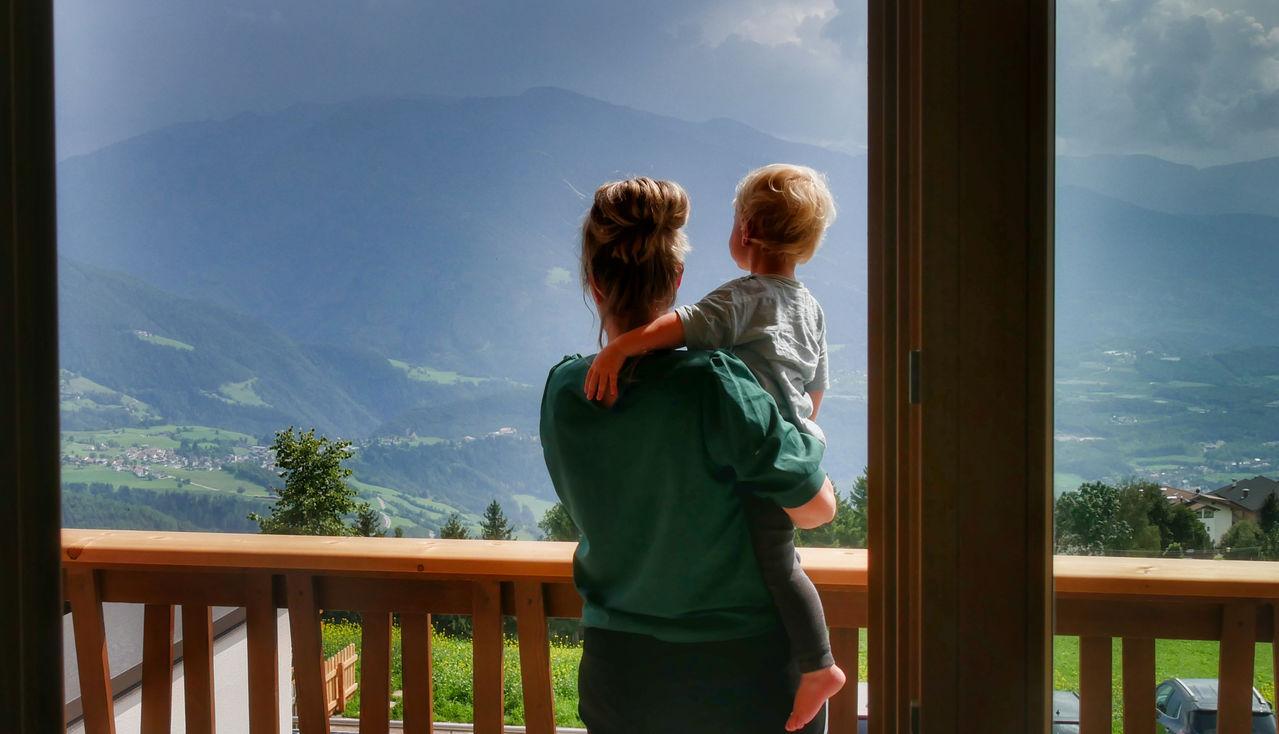 Family Home Alpenhof Zuid Tirol uitzicht