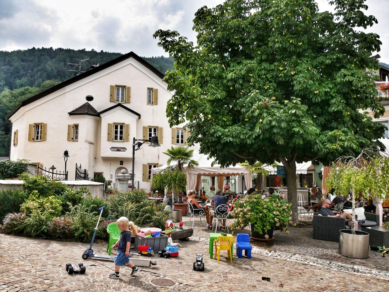 Mühlbach Zuid Tirol plein