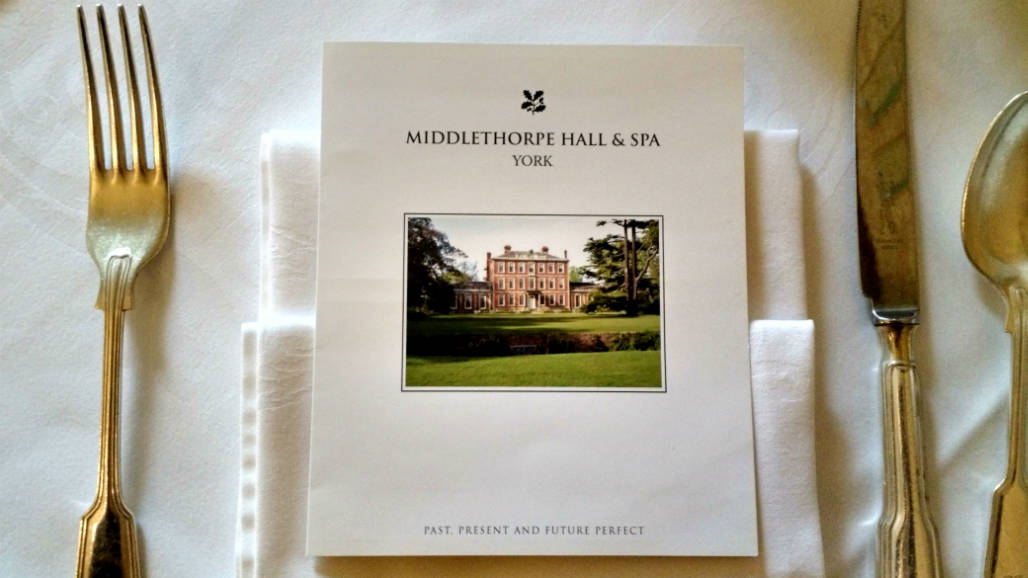 Hotel Middlethorpe Hall restaurant