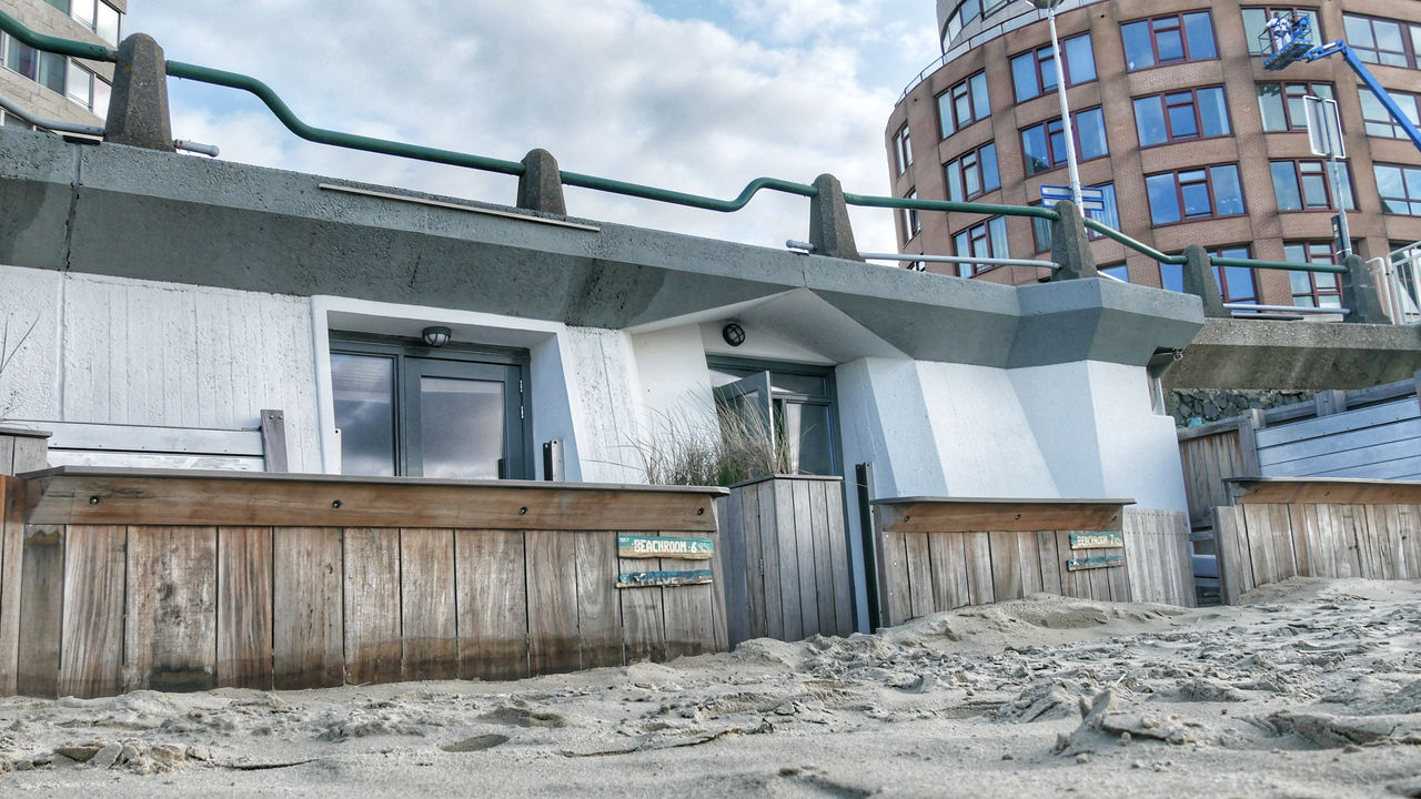 Pier 7 Zandpaviljoen Vlissingen slapen op het strand11