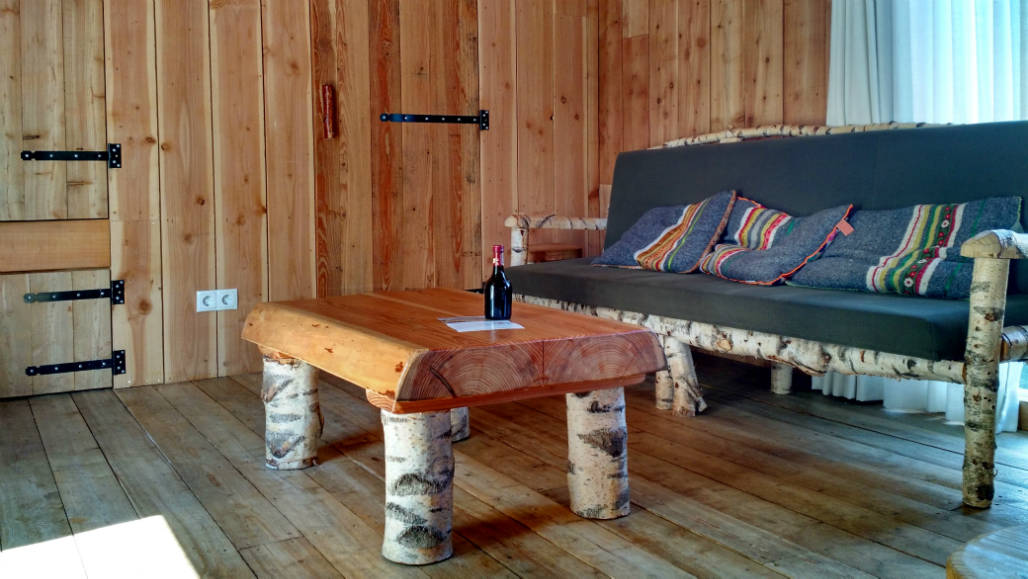 Veluwse ZwerfhutXL natuurhuisje van hout Veluwe