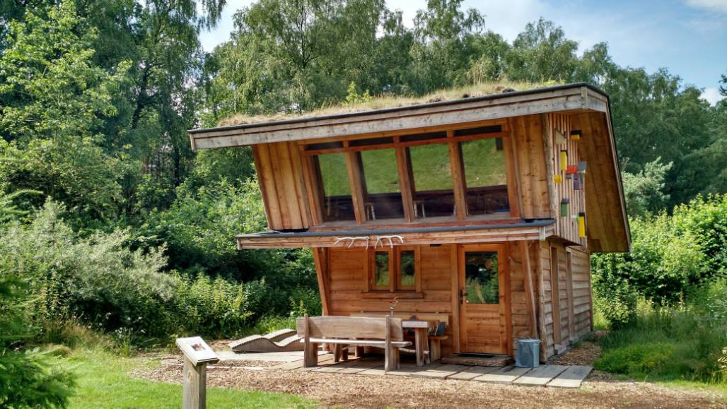 Veluwse ZwerfhutXL natuurhuisje voor familie